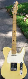 1990 USA Fender Telecaster - Full front