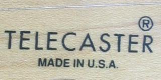 Fender Telecaster Logo